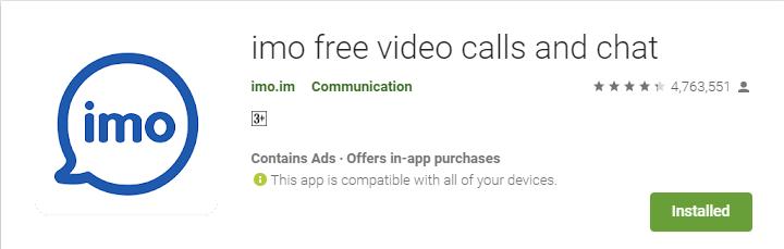 imo ऐप कैसे डाउनलोड एवं इनस्टॉल करे एंड्रॉइड समर्टफोन में